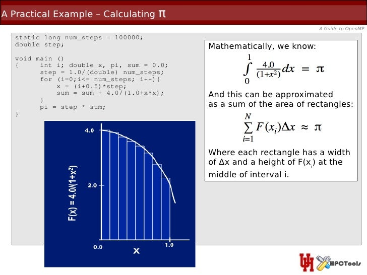 A Practical Example – Calculating   π                                                                     A Guide to OpenM...