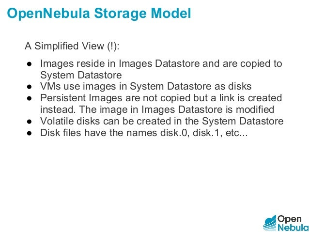 OpenNebulaConf 2016 - Storage Hands-on Workshop by Javier