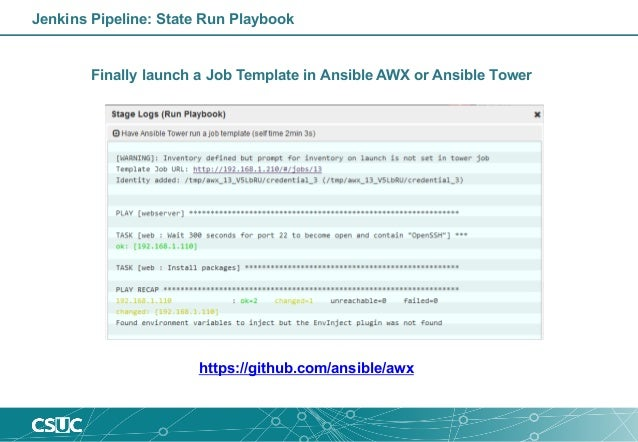 Run Ansible Playbook From Jenkins Pipeline