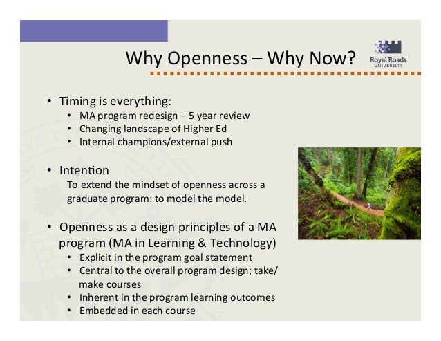 Openness As A Core Value