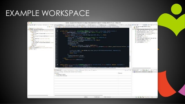 EXAMPLE WORKSPACE