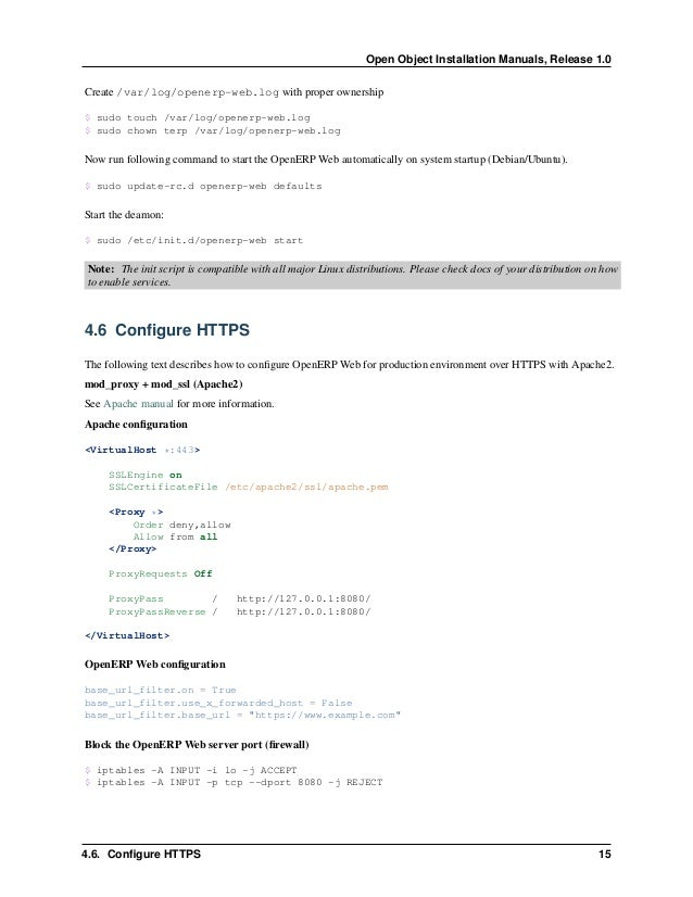 17 Part II Open ERP Installation on Windows