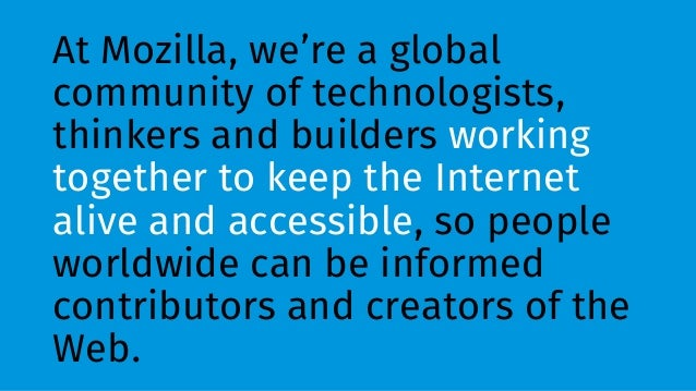 Open Operating Systems and Mozilla´s vision on the future ...