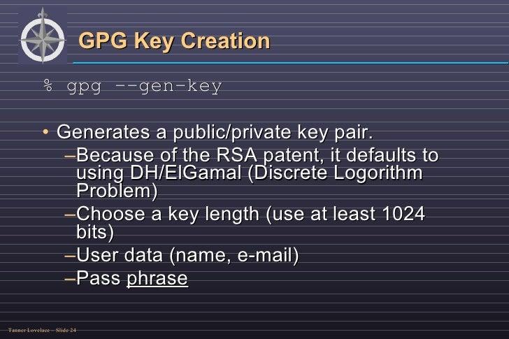 OpenPGP/GnuPG Encryption