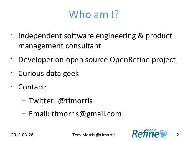 OpenRefine - Data Science Training for Librarians Slide 2