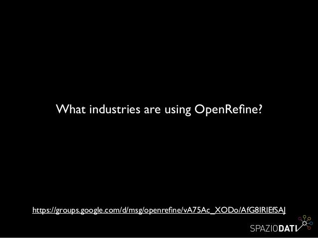 Using entity extraction extension with OpenRefine and Dandelion API
