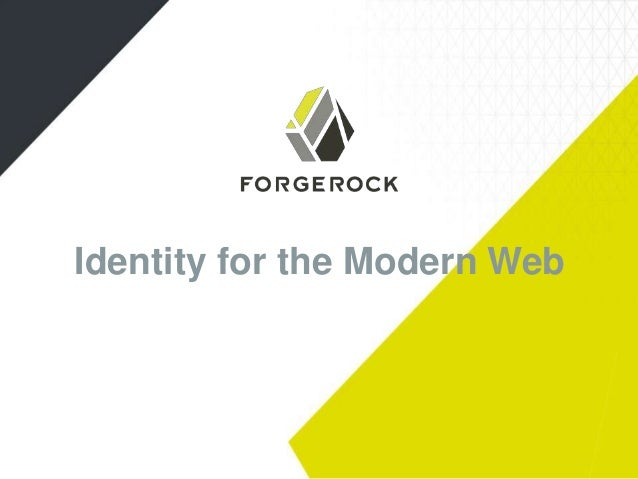 Identity for the Modern Web