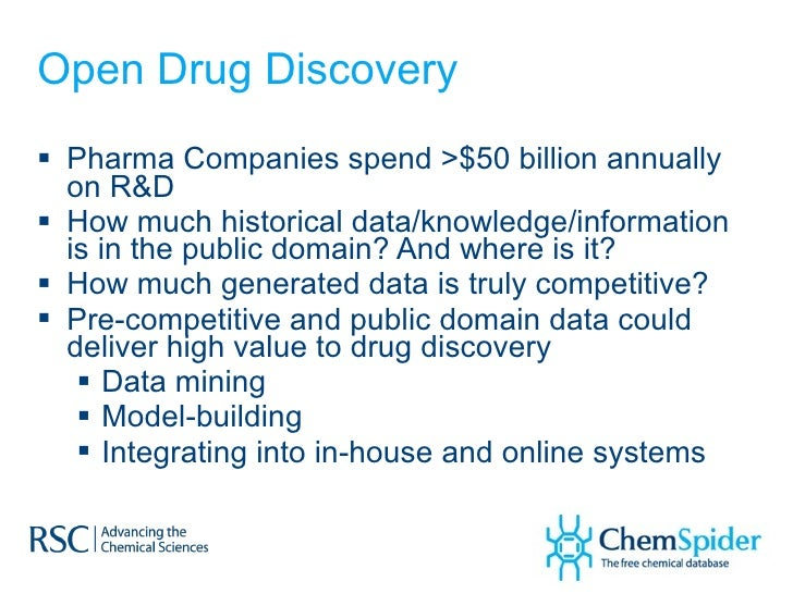 Online Resources to Support Open Drug Discovery Systems Slide 2