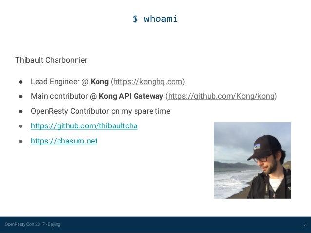 Developing a user-friendly OpenResty application Slide 2