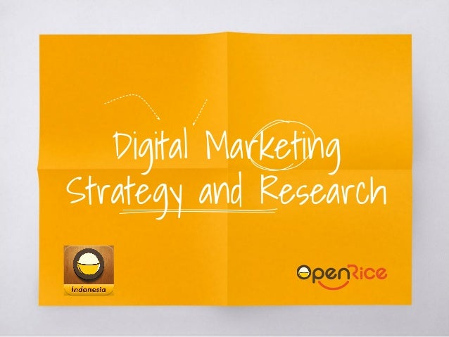 Digital Marketing Strategy and Research