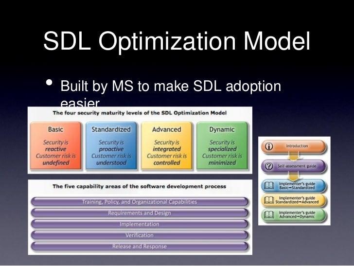 Microsoft maturity model