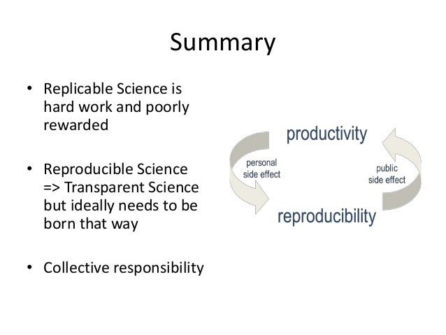 Reproducibility and Scientific Research: why, what, where, when, who, how