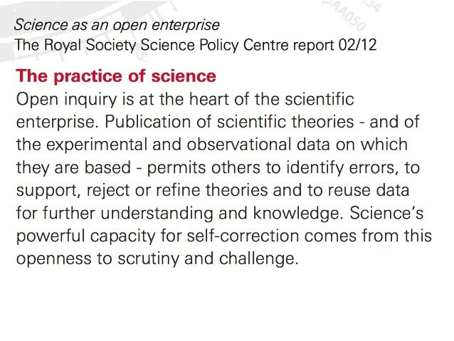 Science in the context of journals, Open, and the future Slide 2
