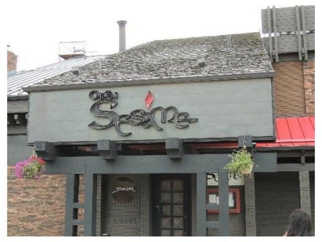 Open Sesame- Calgary food- review