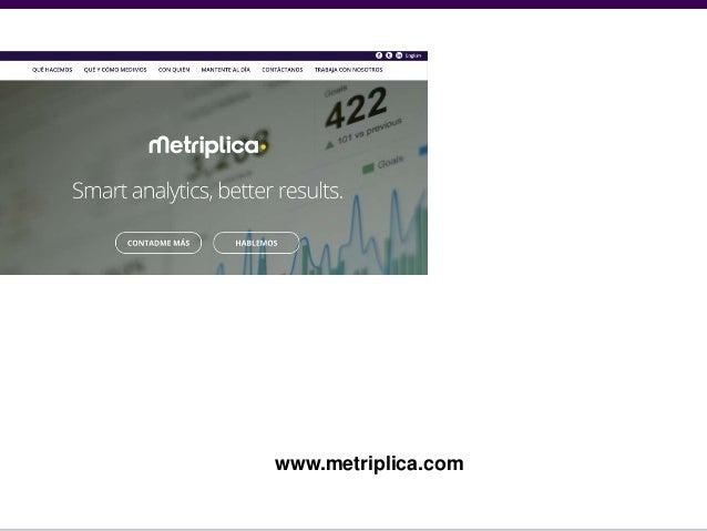 """Metriplica America: """"Cómo a partir de la medición, mejoramos nuestro negocio online"""""""