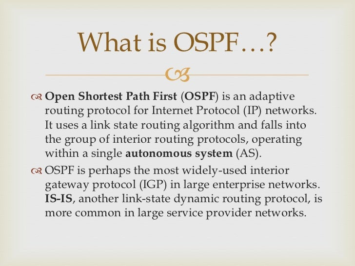 OPEN SHORTEST PATH FIRST PROTOCOL EBOOK DOWNLOAD
