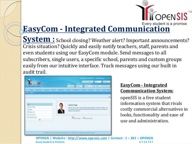 importance of student information system Student information system - student and staff data management.