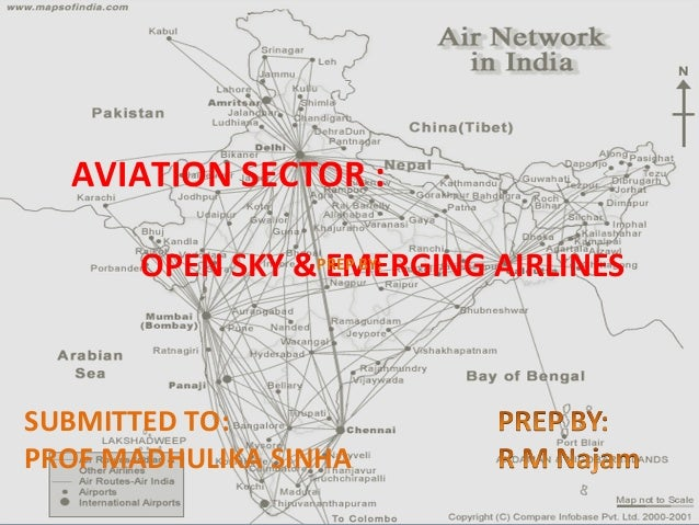AVIATION SECTOR : OPEN SKY &PREP BY: EMERGING AIRLINES  SUBMITTED TO: PROF MADHULIKA SINHA