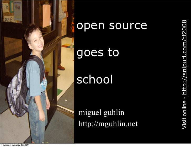 open source                                                    Visit online - http://snipurl.com/tf2008                   ...