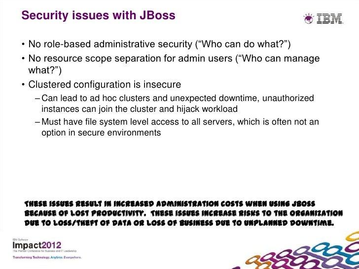 what does jboss application server do