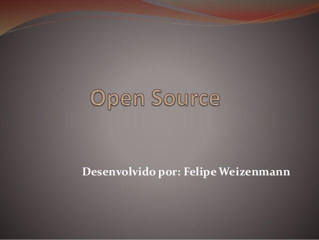 Desenvolvido por: Felipe Weizenmann