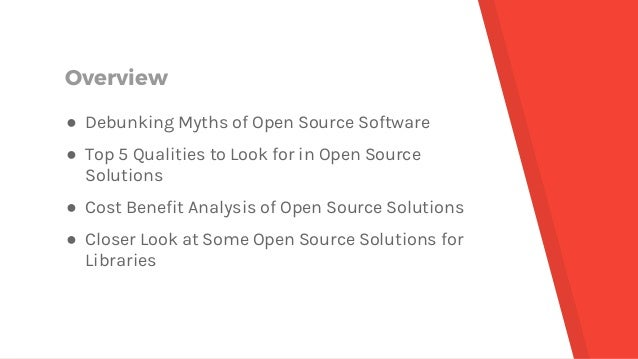 Backing Library Operations with Open Source Applications Slide 2