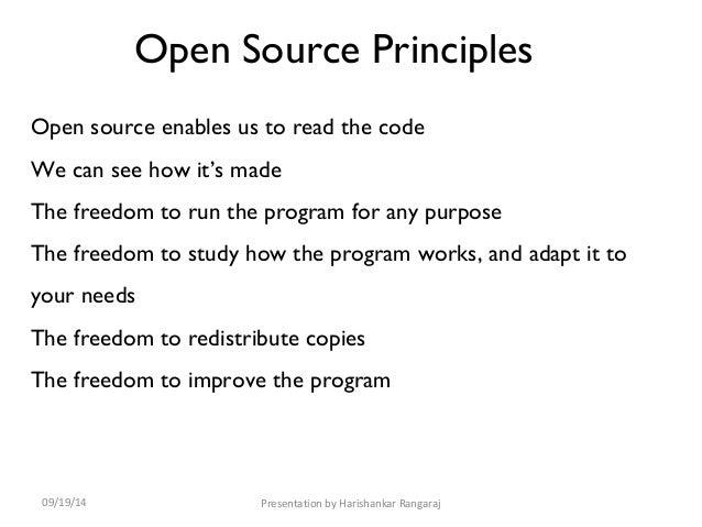 Open source hadoop architecture powerpoint template.