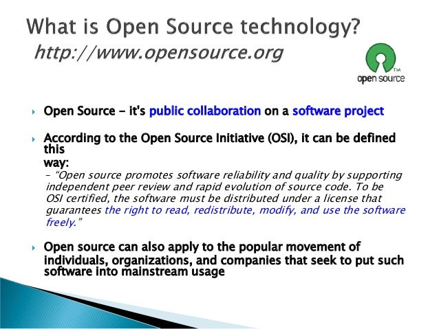 Essay on open source software