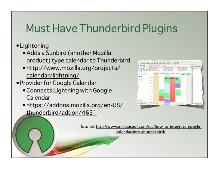 how to turn of intergation pop up in mozzila thunderbird