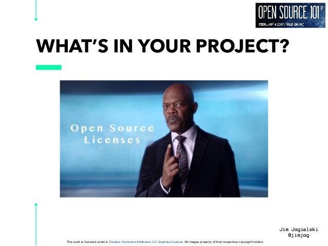 Open source101 licenses Slide 3