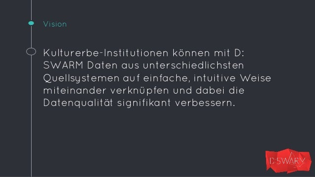 D:SWARM fügt sich als Middleware zwischen  vorhandene Systeme, von @rt3_rw