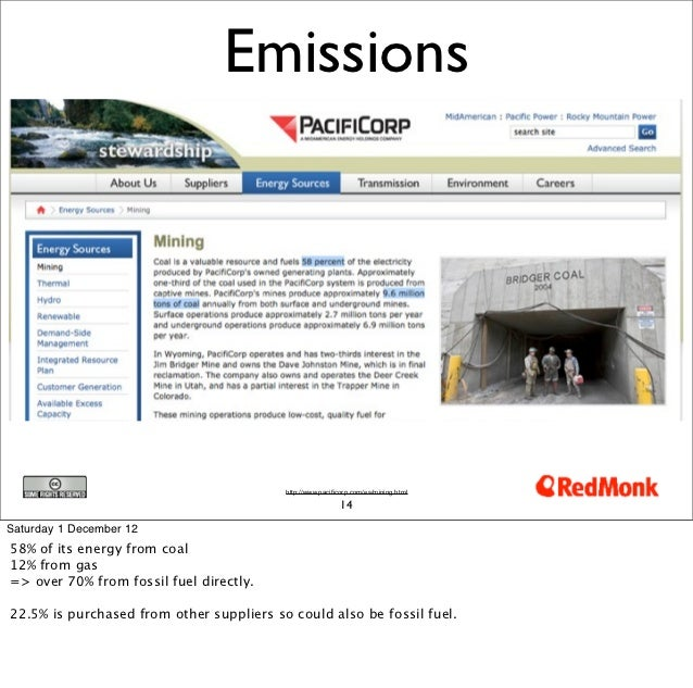 Emissions                                          http://www.pacificorp.com/es/mining.html                               ...