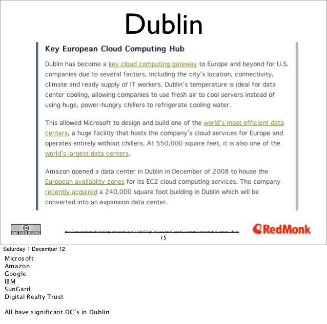Dublin                         http://www.datacenterknowledge.com/archives/2011/08/07/lightning-in-dublin-knocks-amazon-mi...