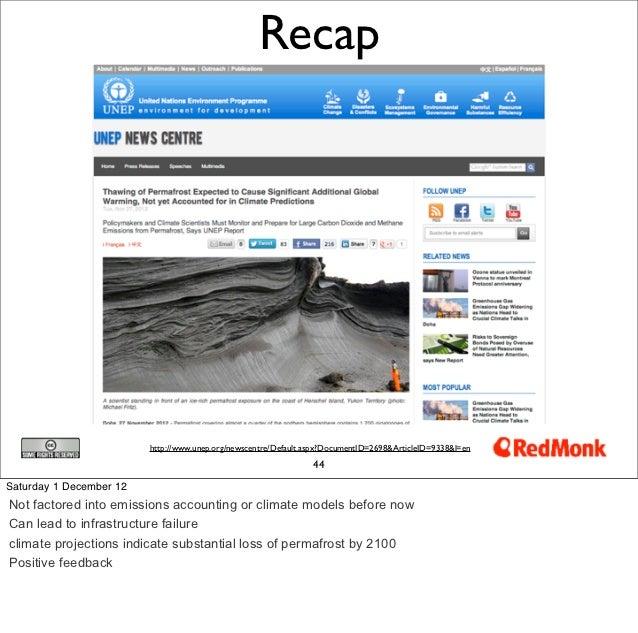 Recap                         http://www.unep.org/newscentre/Default.aspx?DocumentID=2698&ArticleID=9338&l=en             ...