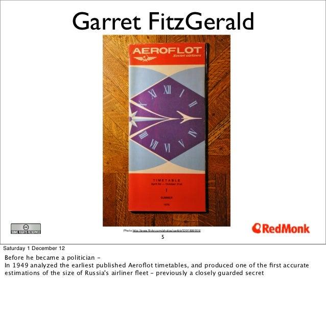 Garret FitzGerald                                     Photo http://www.flickr.com/photos/caribb/5391899550/               ...
