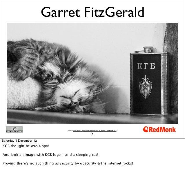 Garret FitzGerald                                      Photo http://www.flickr.com/photos/steve_brace/2568478072/         ...