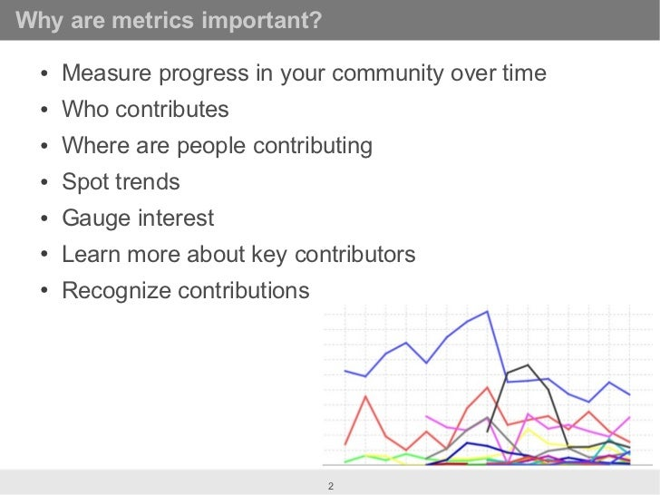 Crunching the numbers: Open Source Community Metrics at OSCON Slide 2