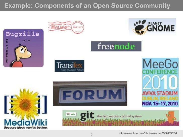 Crunching the numbers: Open Source Community Metrics at OSCON Slide 3