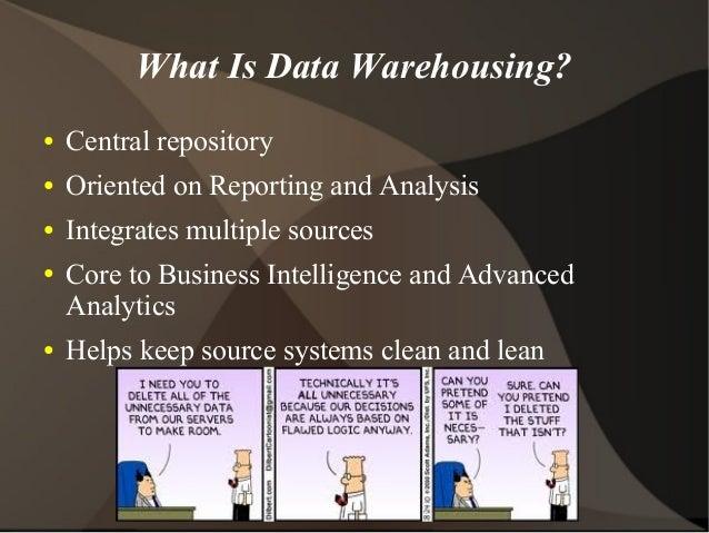 Open Source Data Warehousing Overview