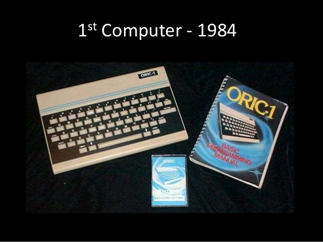 1st Computer - 1984