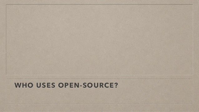 Open source for a successful business Slide 2