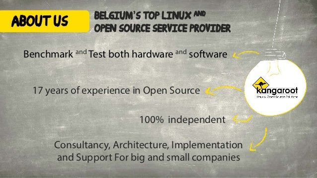 belgium's top linux and open source service provider 100% independent 17 years of experience in Open Source Consultancy, A...