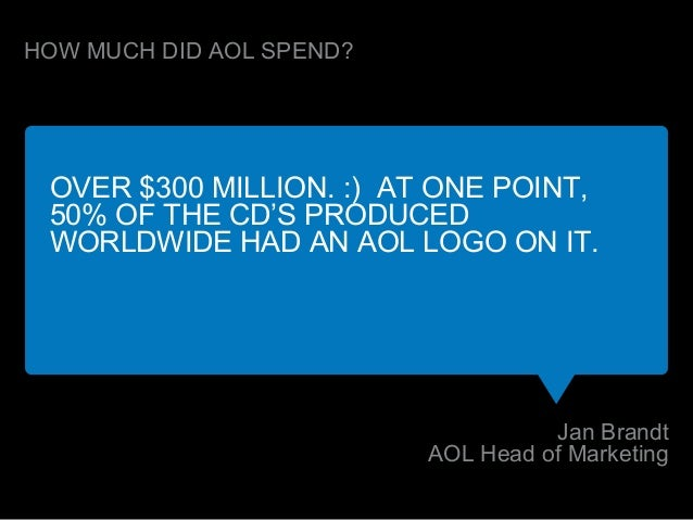 and it did get a lot of Americans online! (27 million at its peak)