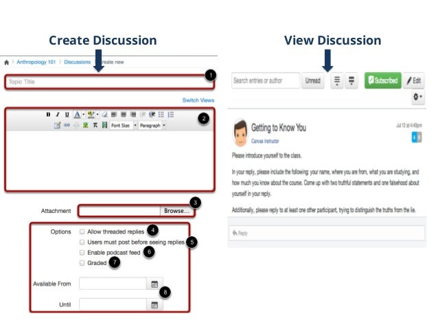View Content Hosted With module structure in Canvas you have the ability to view course content by weeks, units, or whatev...