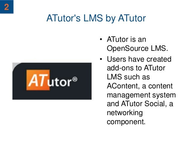 3    BusinessLMS by LMS Global                 • A full-featured Open                   Source LMS for                   b...