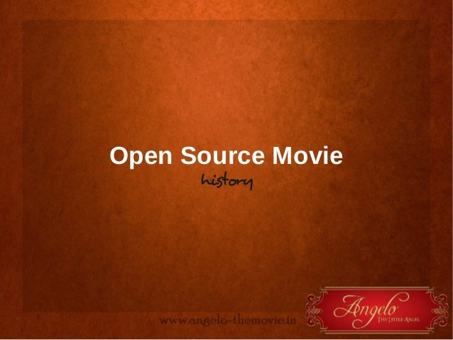 Open Source Movie history