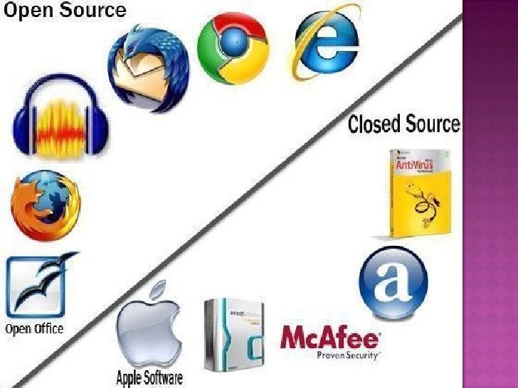 Open source software vs proprietary software