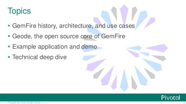Open Sourcing GemFire - Apache Geode Slide 3