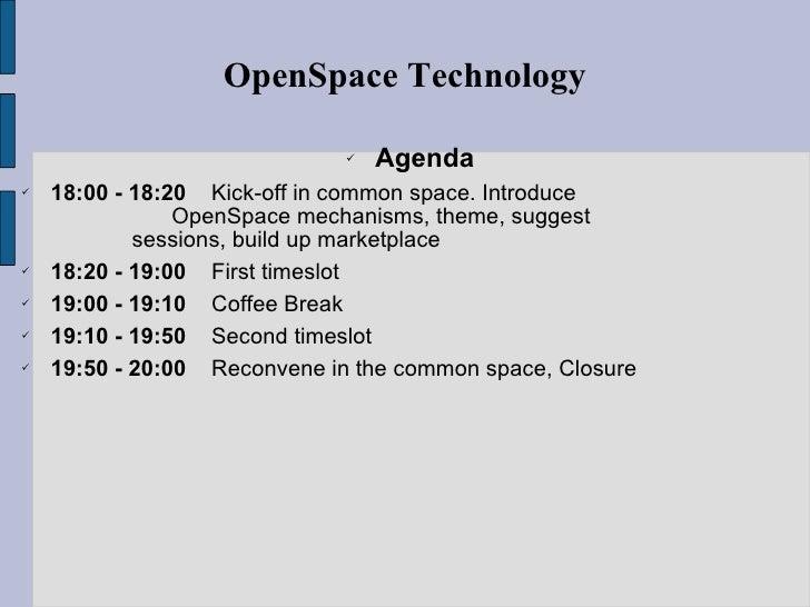 Jaibeer Malik   http://jaibeermalik.wordpress.com OpenSpace Technology