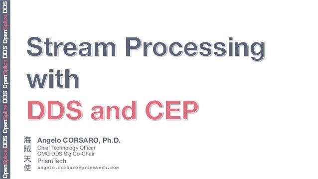 Angelo CORSARO, Ph.D. Chief Technology Officer  OMG DDS Sig Co-Chair PrismTech angelo.corsaro@prismtech.com! 海 賊 天 使